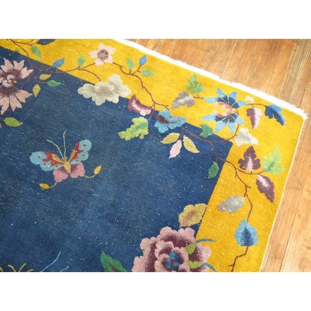 Chinese Art Deco Rug, 9' x 11'9'' - Image 7 of 9