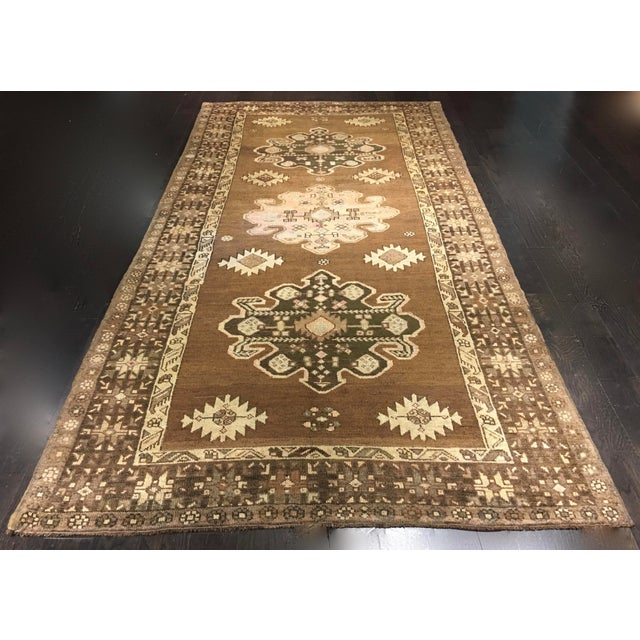"Bellwether Rugs Turkish Oushak Runner- 5'3"" X 10'11"" - Image 2 of 9"