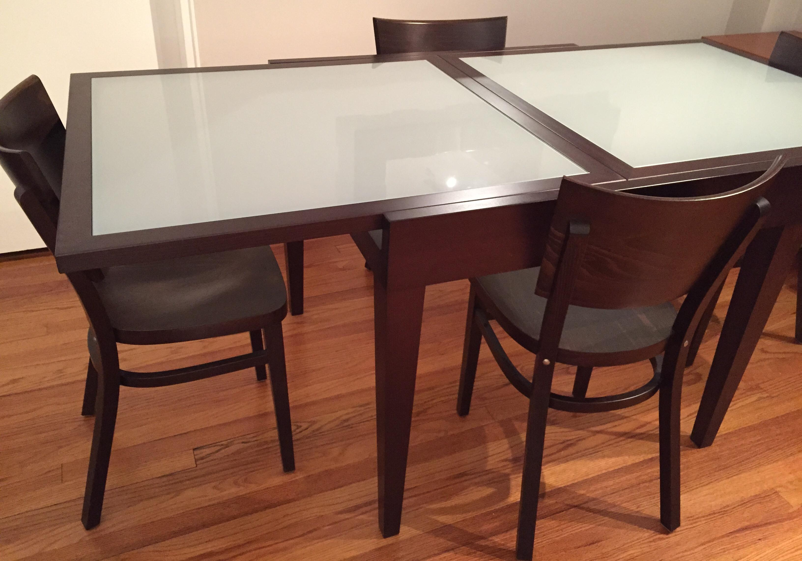Design Within Reach Modern Dining Set   Image 3 Of 4