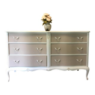 Vintage Shabby Chic French Provincial Dresser