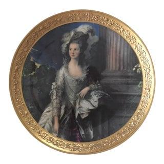 "Gorham Fine China Plate ""The Honorable Mrs. Graham"""