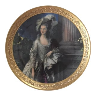 "Gorham Fine China Plate ""The Honorable Mrs. Graham"""