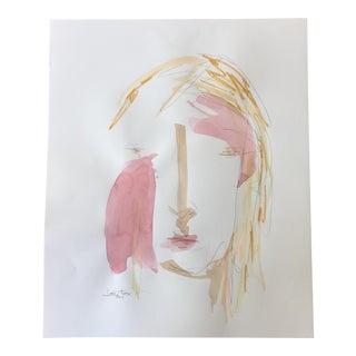 Lori Fox Watercolor Face 028