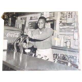 Ice Cream Parlor Original Charles Harris Photo