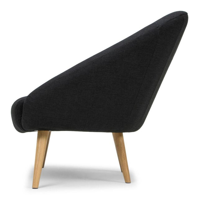 Image of Sarreid LTD Black 'Billionaire' Chair