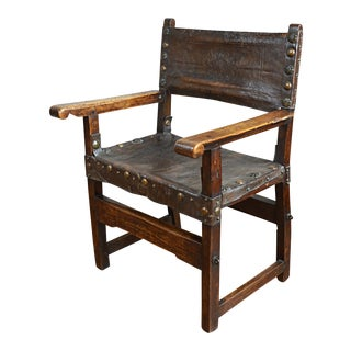 16th Century Spanish Friar's Chair