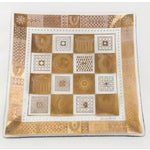 Image of Georges Briard 22k Golden Celeste Plates - Pair