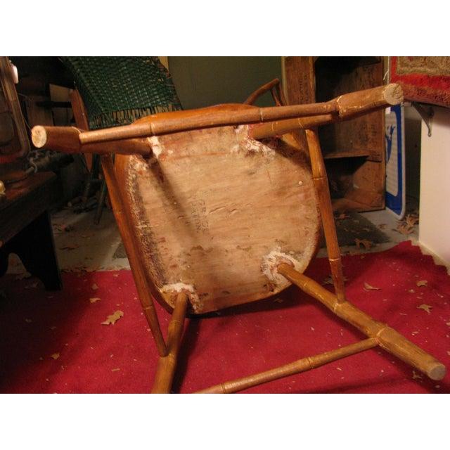 Antique Signed Samuel Gragg Windsor Chair - Image 4 of 11