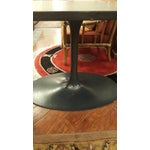 Image of Oval Tulip Style Table with Veneer Top