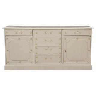 Kittinger Light Gray Office Credenza