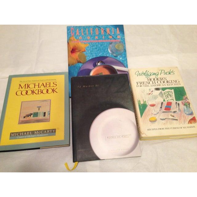 Image of 1980s California Cookbooks - Set of 4