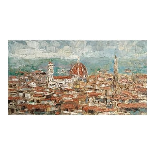Oil on Canvas of Florence Italy