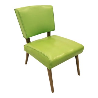 Vintage Mid-Century Modern Slipper Side Chair