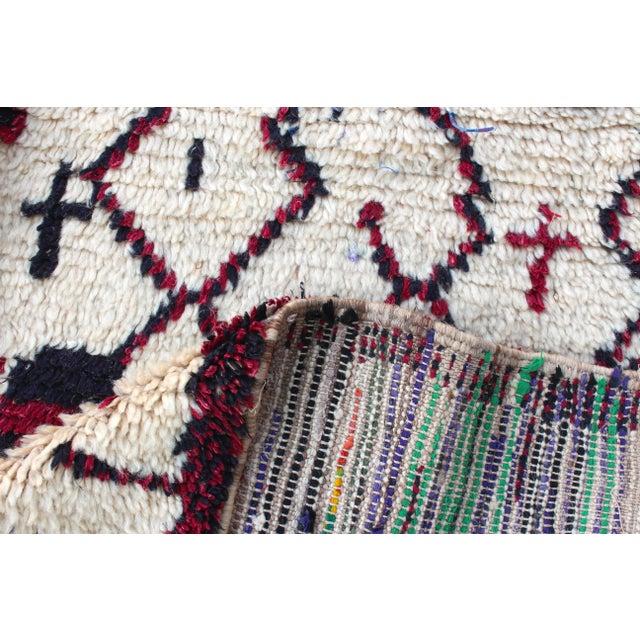 Image of Vintage Azilal Moroccan Berber Rug - 5′1″ × 9′6″
