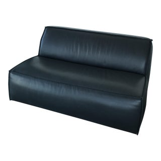 Baxter Italian Genuine Leather Settee