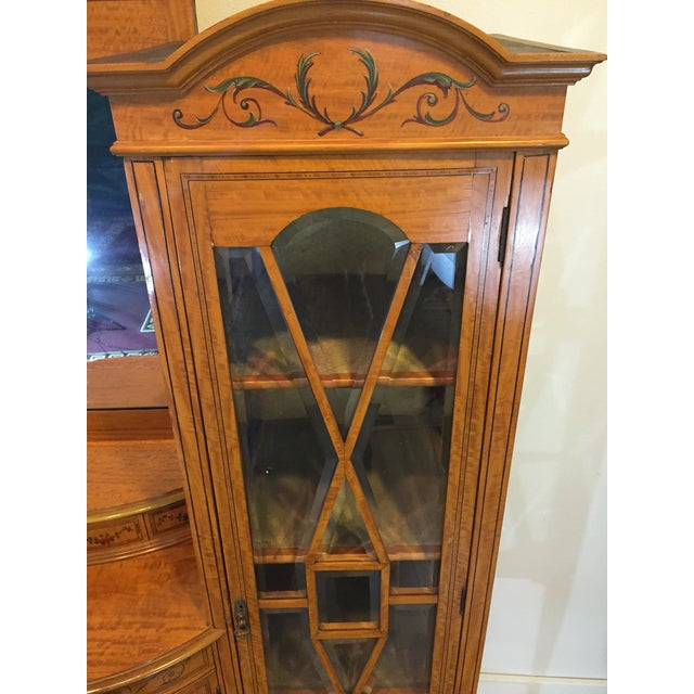 Image of Antique European Display Hutch
