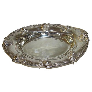 Forbes Quadruple Silver Serving Tray