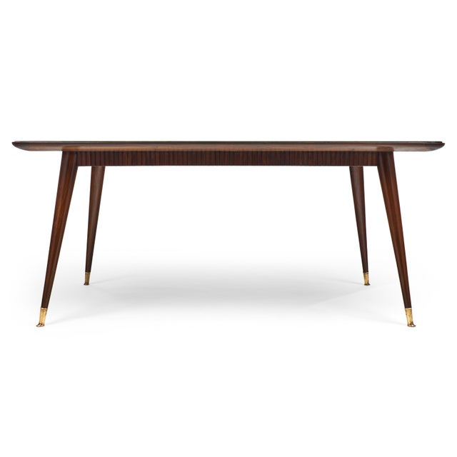 Italian Mid-Century Modern Dining Table - Image 5 of 11