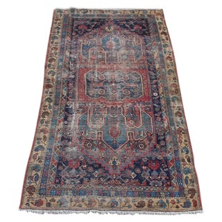 "Antique Persian Rug - 3'6"" x 6'2"""