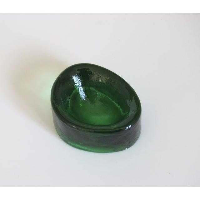V. Nason & C. Emerald Murano Glass Paper Weight - Image 5 of 5