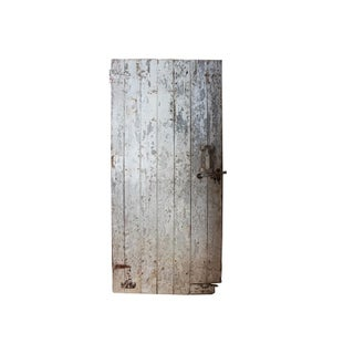 Antique White Barn Door