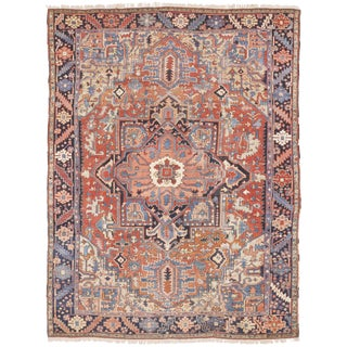 Antique Persian Serapi Rug - 8′4″ × 10′11″