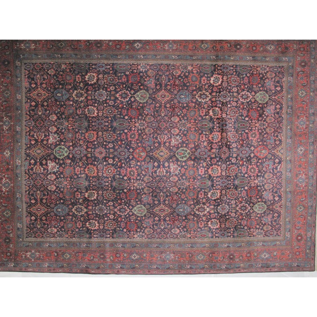 "Bijar Carpet - 11'10"" X 8'9"" - Image 3 of 6"