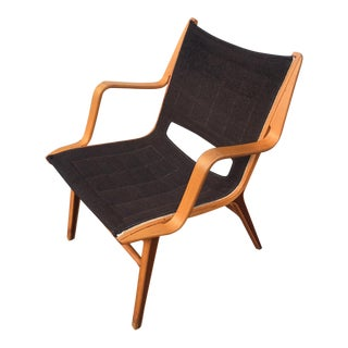 "Peter Hvidt Danish Mid-Century Modern ""Ax"" Chair"