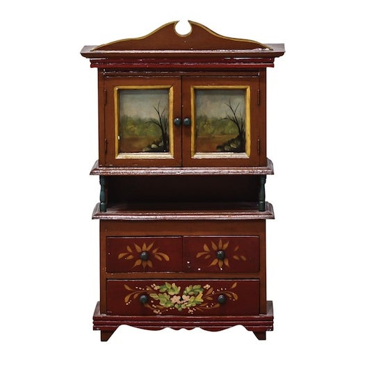wall mounted curio cabinet chairish. Black Bedroom Furniture Sets. Home Design Ideas