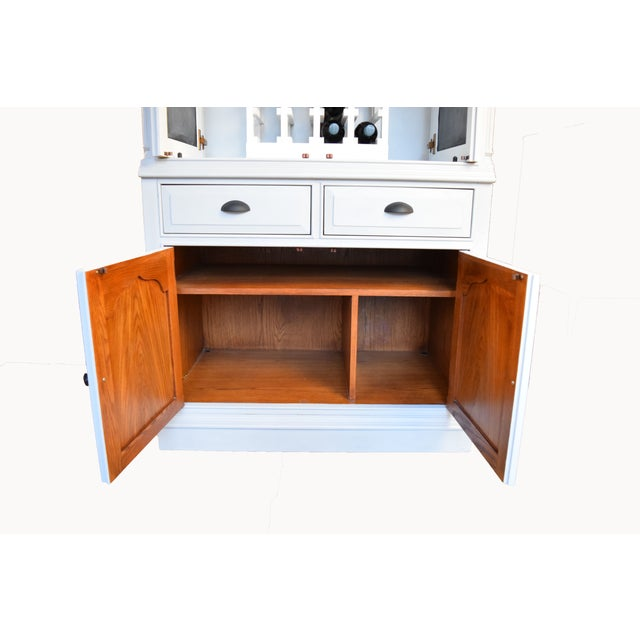 Image of Traditional Home Bar Cabinet