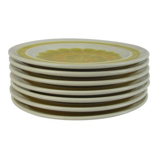 Franciscan Earthenware Salad Dishes - Set of 7