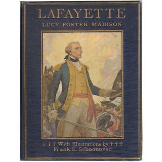 """""""Lafayette"""" 1921 Book By Lucy Foster Madison"""