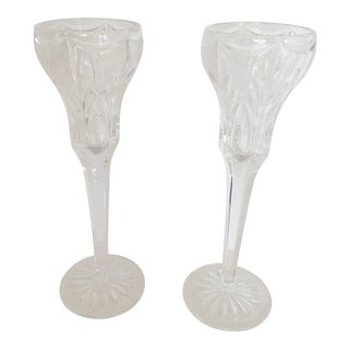 Vintage Candlestick Holders - A Pair