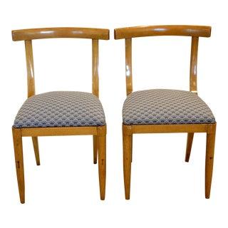 1950s Vintage Dunbar Side Chairs - Pair