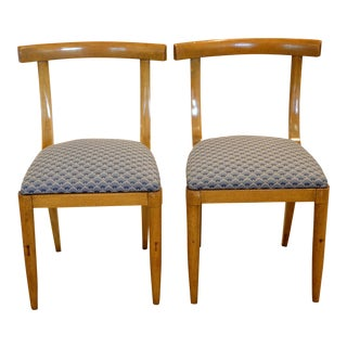 1950s Vintage Dunbar Side Chairs - Pair