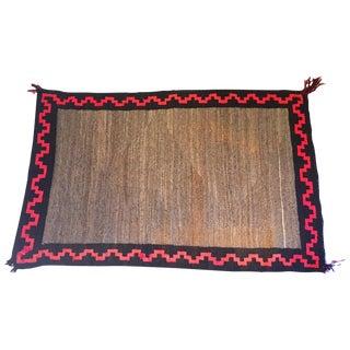 Authentic Vintage Navajo Rug - 2′7″ × 4′3″