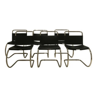 Mies Van Der Rohe Side Chairs - Set of 6
