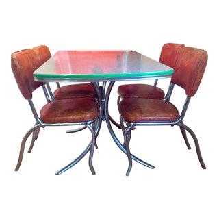 Vintage 1950's Mid-Century Dining Set