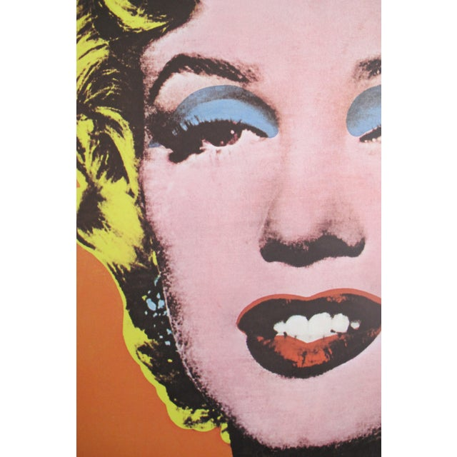 1969 Marilyn Monroe Pop Art Poster by Andy Warhol - Image 3 of 4