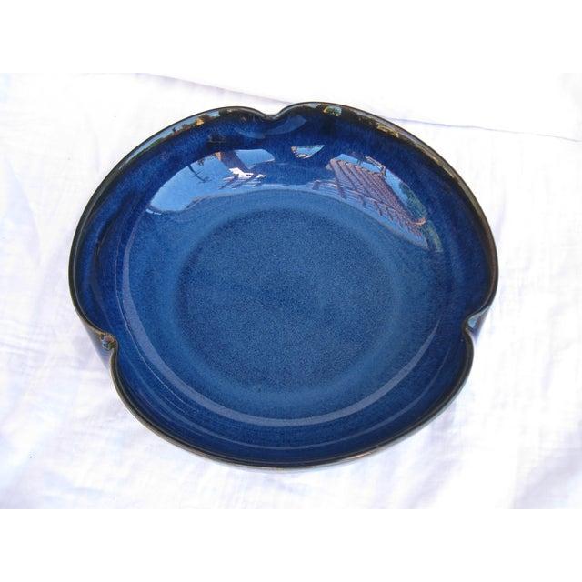 Indigo Pottery Catchall Bowl - Image 6 of 7