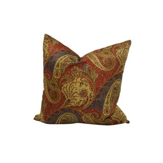 Custom Paisley Throw Pillow