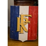 Image of Antique Sign - Republic of France