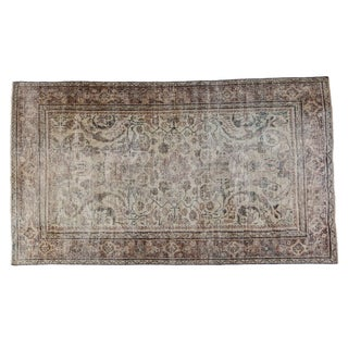 "Distressed Persian Mahal Carpet - 5'1"" x 8'10"""