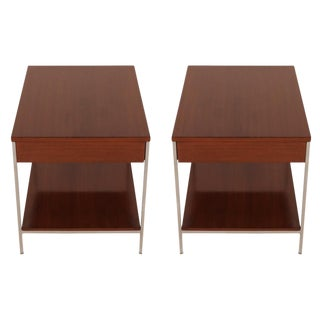 George Nelson for Herman Miller Single Drawer End Tables - a Pair