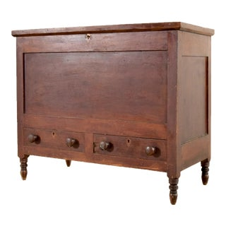Antique 1800s Lift Top Sugar Chest