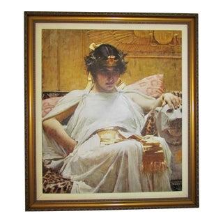 "John William Waterhouse ""Cleopatra"" Framed Print"