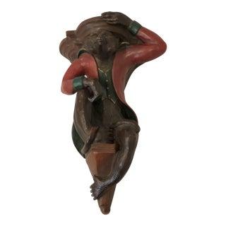 Chinoiserie Monkey Wall Shel/ Bracket