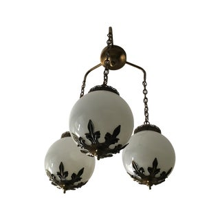 Three Ball Hanging Chandelier