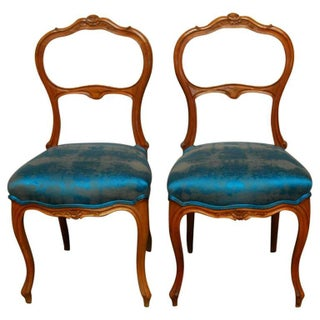 Rococo French Carved Chairs - A Pair