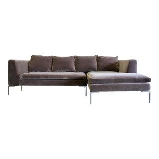 Mohair Sofa by Antonio Citterio for B&b Italia